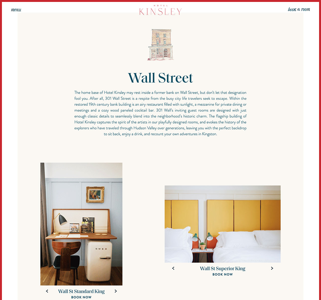 Hotel Detail page
