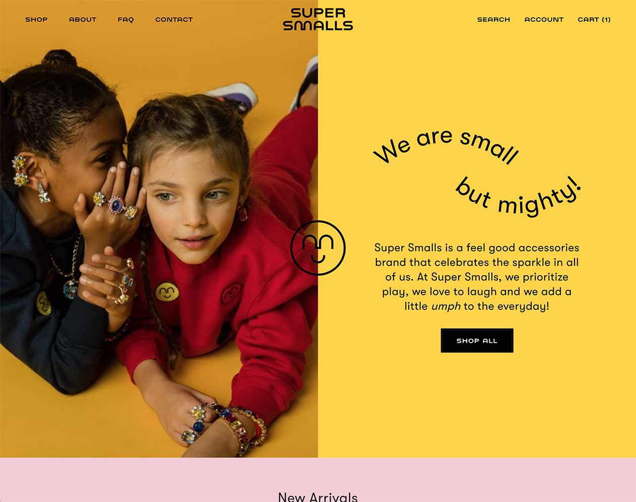 Super Smalls Homepage